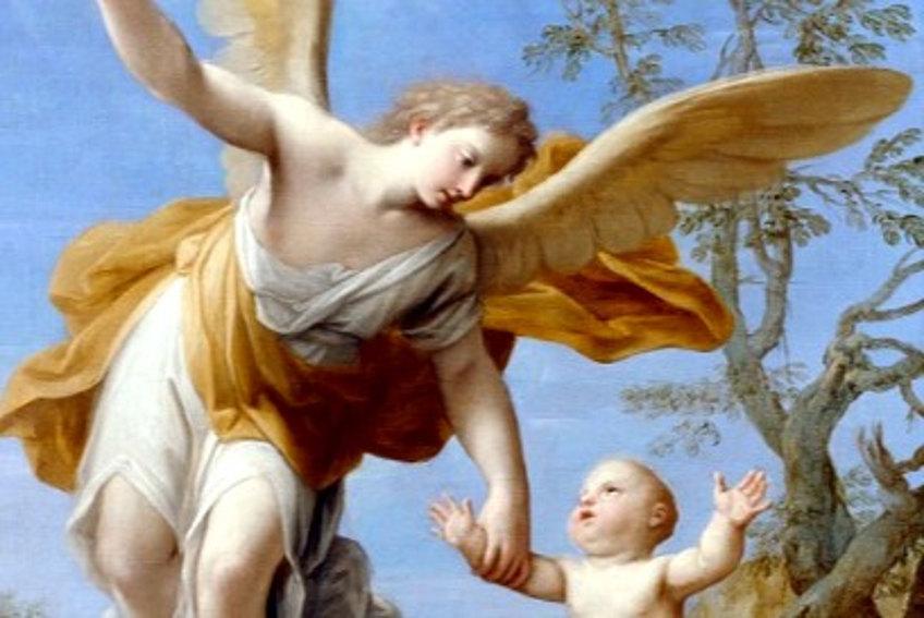 Resultado de imagen para san José y su ángel de la guarda