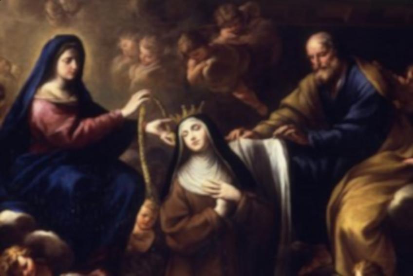 Santa Teresa De Jesús Y La Virgen María
