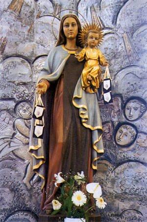Resultado de imagen para Virgen del Carmen